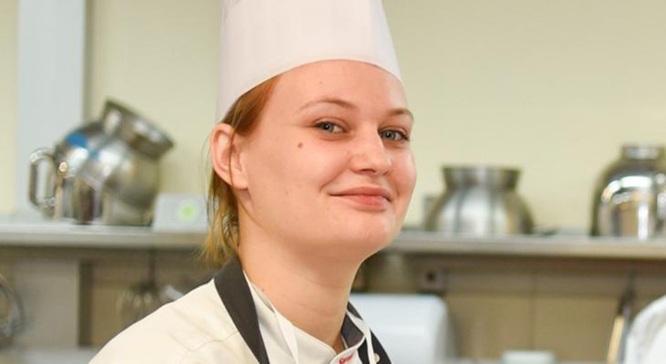 Sarah Kreft, Teilnehmerin am Lernaufenthalt 2018