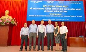 Berufliche Bildung in Vietnam: GIZ und Kommunistische Partei organisieren gemeinsame Konferenz