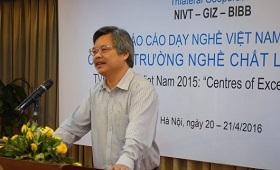Berufsbildungsbericht Vietnam 2015: Erfolgreiche Kooperation wird fortgesetzt