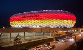 Zwischen Münchner Allianz Arena und Weltmeistern