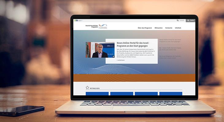 Neues Online-Portal für das Israel-Programm