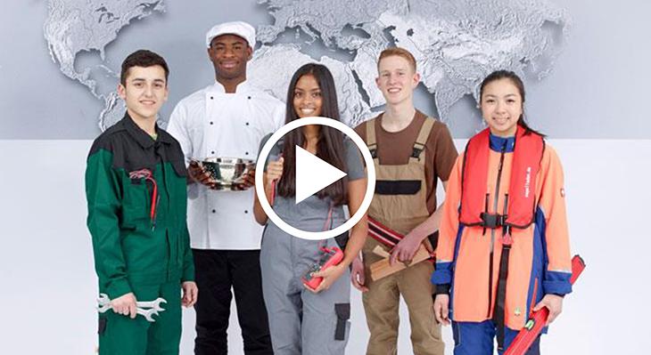 فيلم: ما هو التعاون الدولي في مجال التعليم والتدريب المهني ومَنْ يشارك؟