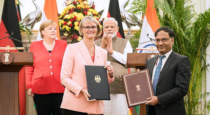 Absichtserklärung zur deutsch-indischen Berufsbildungszusammenarbeit wird verlängert