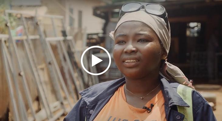 TVET4Women: Schweißen in Ghana