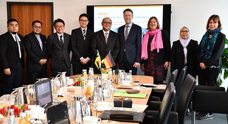 Brunei exploring German vocational education and training