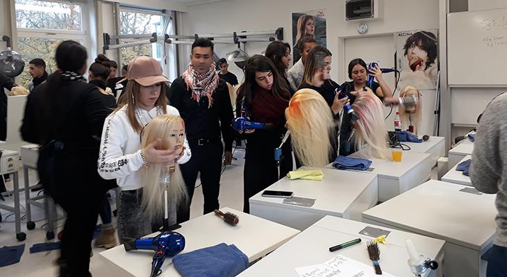 Inspirationen aus dem Partnerland – Austausch im Friseurhandwerk und Kosmetikbereich