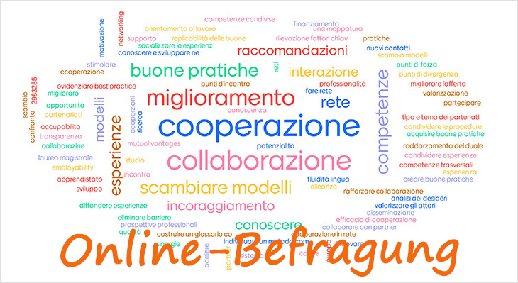 Jetzt online: Befragung zu Kooperationserfahrungen zwischen Deutschland und Italien
