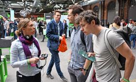 Live Diskussionen mit Berufsbildungsxperten am Stand von GOVET (a01) auf der re:publica