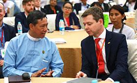 Die 4. Regionale Berufsbildungskonferenz fand erfolgreich in Myanmar statt