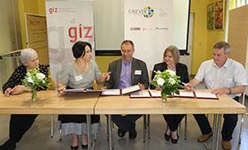 "GIZ unterstützt Entwicklung des Master Studiengangs ""International Technical Vocational Education and Training (TVET)"""