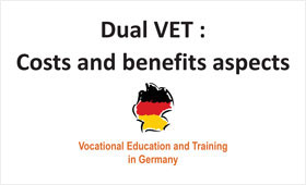 Presentation on Costs and benefits aspects in Dual VET