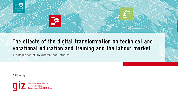 What are the effects of the digital transformation on TVET and the labour market?
