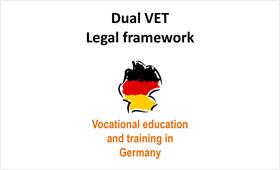 Presentation on the legal framework of VET in Germany
