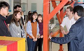 Logistik-Training für chinesische Schüler