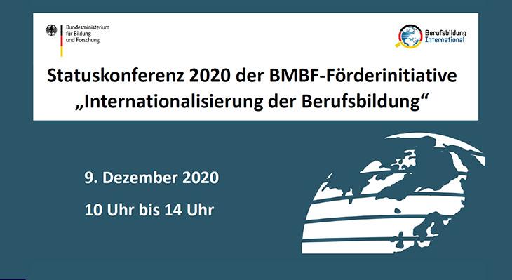 """Statuskonferenz der BMBF-Förderinitiative """"Internationalisierung der Berufsbildung"""""""