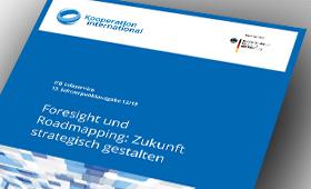 """Broschüre zum Thema """"Foresight und Roadmapping"""""""